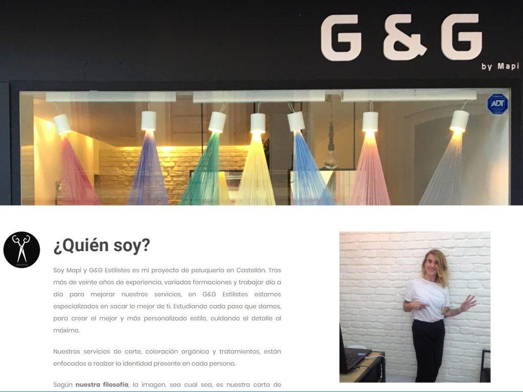 Web de G&G Estilistes