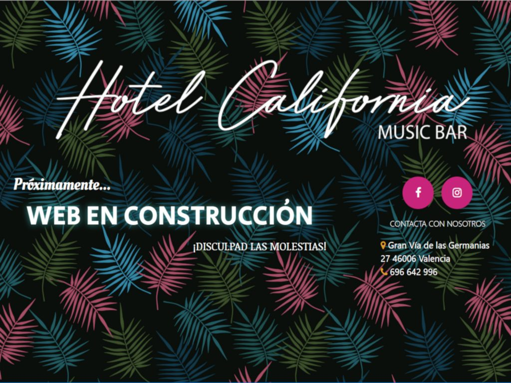 Web de Hotel California